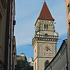 Town Hall Tower, Passau by Graeme  Hyde