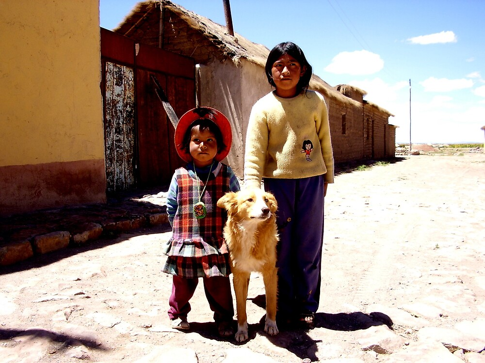 Bolivian youth by ioandavies