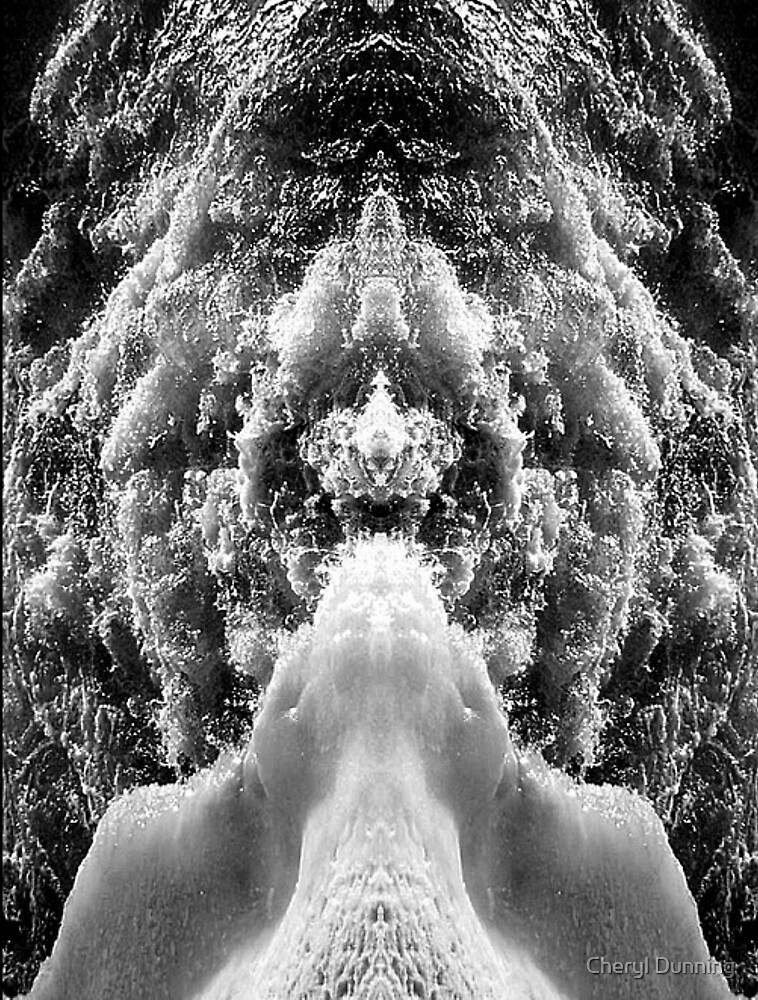 abstract water... by Cheryl Dunning