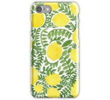 The Fresh Lemon iPhone Case/Skin