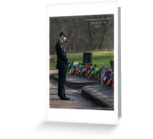 Remembering The Fallen Greeting Card