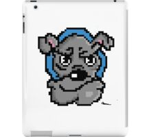 Pixel bulldog iPad Case/Skin