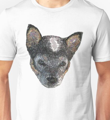 Puppy love-edged out Unisex T-Shirt