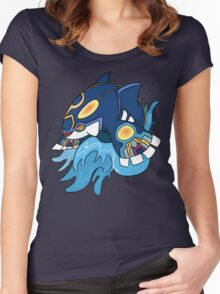 Alpha Sapphire Women's Fitted Scoop T-Shirt