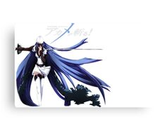 Akame Ga Kill- Esdeath Canvas Print