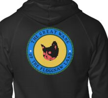 Great seal of wang Zipped Hoodie