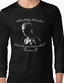 Ninth Doctor - Fantastic Long Sleeve T-Shirt