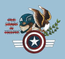 Captain America Tattoo Flash by ColeC