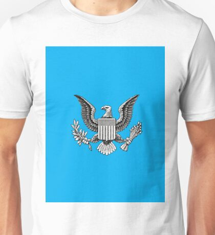 Blue American Eagle  Unisex T-Shirt