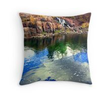 Blue As Day Throw Pillow
