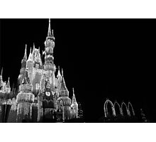 Walt Disney World Cinderella's Castle Dream Lights Photographic Print