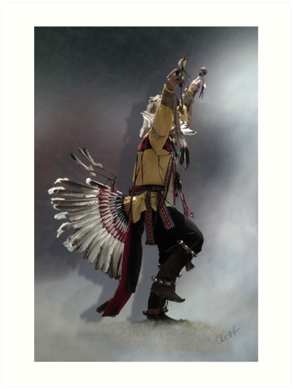 Eagle Dance by Christine Thomas