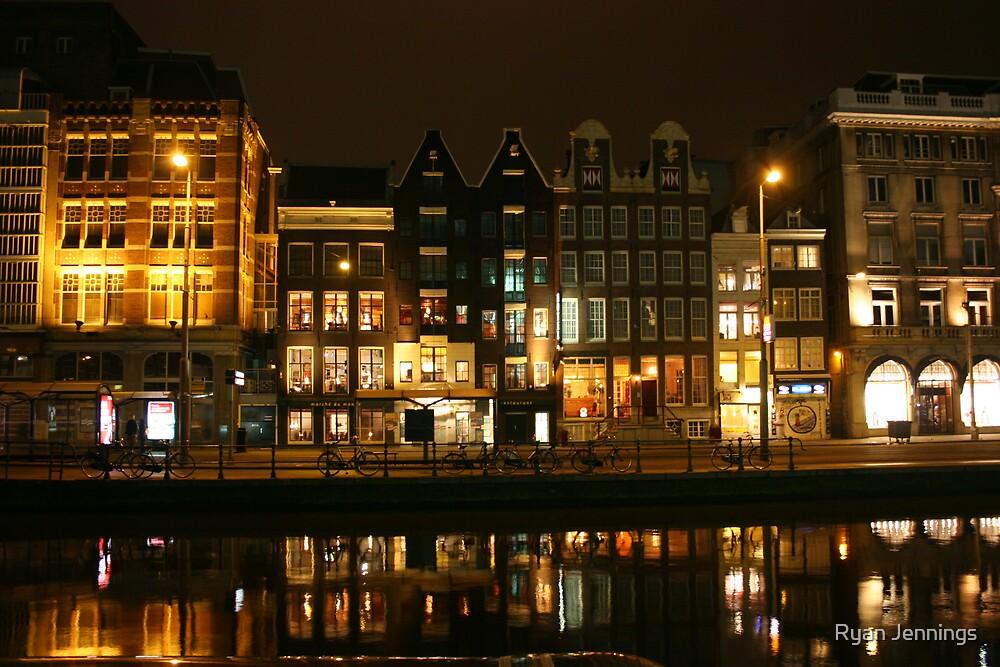 Amsterdam at Night by Ryan Jennings