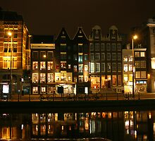 Amsterdam at Night by Ryan Jennings