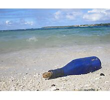 Message in a Bottle Photographic Print