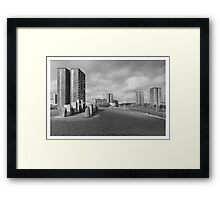 The Flats Framed Print