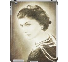 The Icon of Elegance  iPad Case/Skin