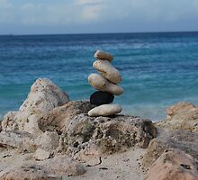 At the beach @ Aruba by charon