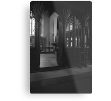 The Church of St. Nectan's Metal Print
