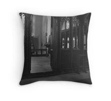 The Church of St. Nectan's Throw Pillow