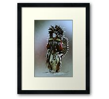 They Come Dancing Framed Print
