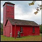 Red Barn by Cargomom