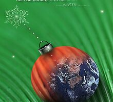 christmas earth by arteology