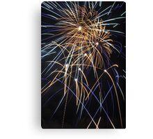 exeter fireworks Canvas Print