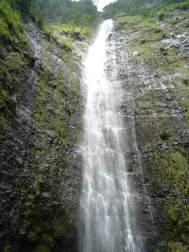 Hana, waterfall by KiT Owen