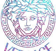 purple and blue medusa (t-shirts/stickers/pillows/iphone cases/tote bags/mugs/travel mugs by shopsadness