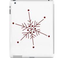 Snowflake 1 iPad Case/Skin