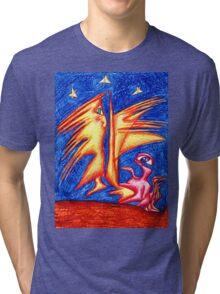 Starry Night Tri-blend T-Shirt