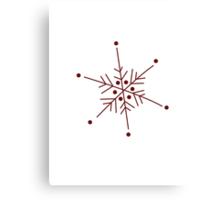 Snowflake 1 Canvas Print