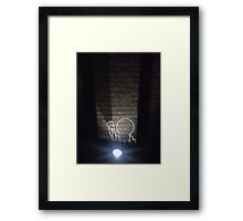 Pinhead in the Dark Framed Print