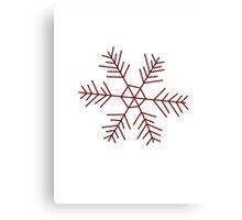 Snowflake 2 Canvas Print