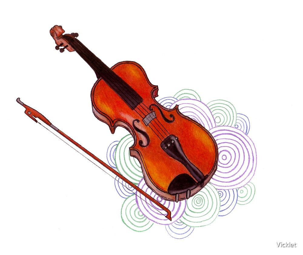 Violin by Vicklet