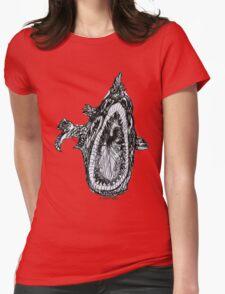 Bio Hazard Fish Womens Fitted T-Shirt