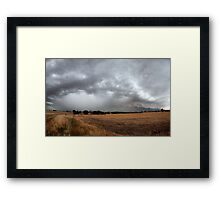 The Storm Front Framed Print