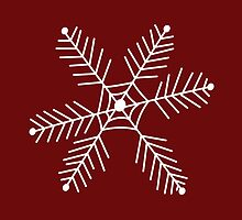 Snowflake 3 by Leah Price