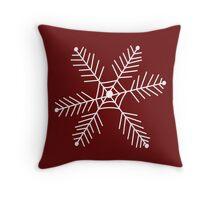 Snowflake 3 Throw Pillow