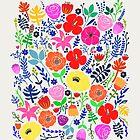 Secret Flower Garden by uzualsunday