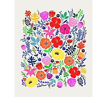 Secret Flower Garden Photographic Print