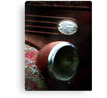 Lil Red Fire Truck Canvas Print