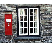 Tintagel Old Post Office Photographic Print