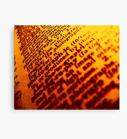 Graphic Photography Canvas Print