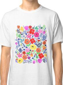 Secret Flower Garden Classic T-Shirt