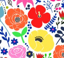 Secret Flower Garden Sticker
