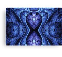 Blue armour Canvas Print