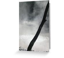 Thermal Mud Greeting Card