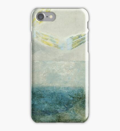 Angel over the Bay iPhone Case/Skin